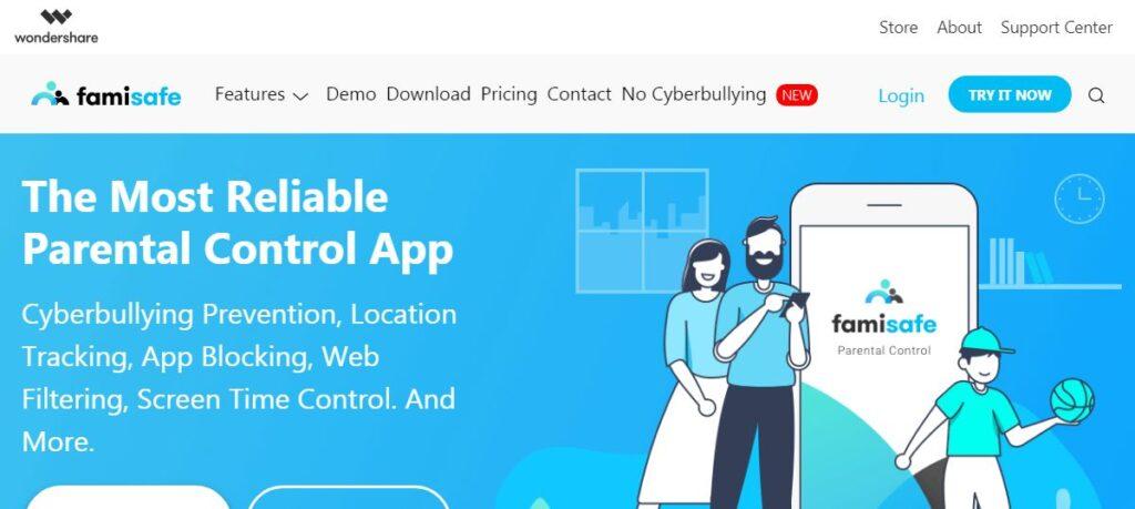 famisafe monitor app